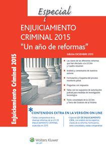 Imagen de Especial Enjuiciamiento Criminal 2015