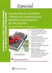 Imagen de Especial Valoración de los daños y perjuicios causados a las personas en accidentes de circulación