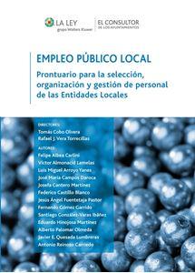 Imagen de Empleo Público Local. Prontuario para la selección, organización y gestión de personal de las Entidades Locales