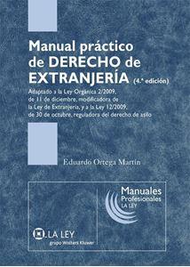 Imagen de Manual Práctico de Derecho  de Extranjería