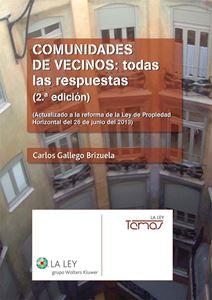 Imagen de Comunidades de vecinos: todas las respuestas. 2ª edición