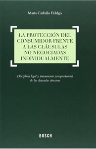 Imagen de La protección del consumidor frente a las cláusulas no negociadas individualmente
