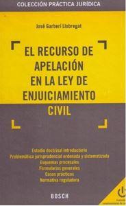 Imagen de El Recurso de Apelación en la Ley de Enjuiciamiento Civil