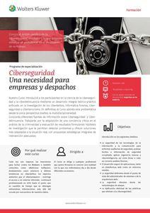 Imagen de Ciberseguridad Una necesidad para empresas y despachos