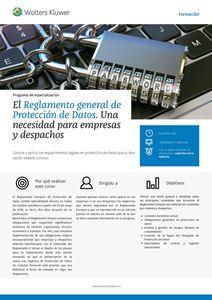 Imagen de El Reglamento general de Protección de Datos. Una necesidad para empresas y despachos