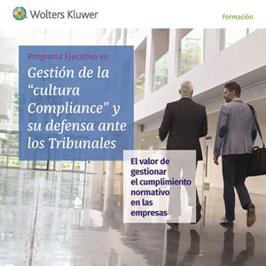 Imagen de Programa Ejecutivo en Gestión de la cultura Compliance y su defensa ante los tribunales