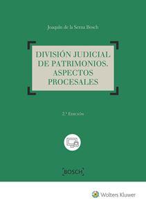 Imagen de División judicial de patrimonios. 2ª Edición