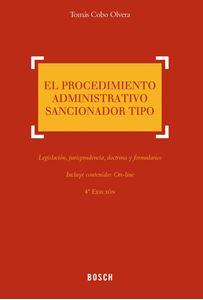 Imagen de El procedimiento administrativo sancionador tipo. 4ª Edición