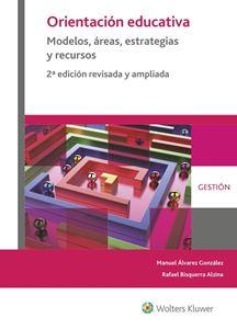 Imagen de Orientación educativa.Modelos, áreas, estrategias y recursos. 2ª Edición