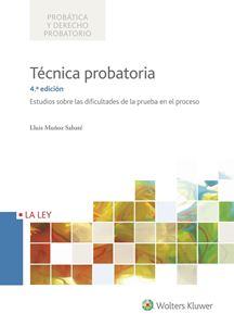 Imagen de Técnica probatoria. 4ª Edición