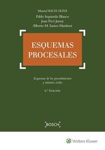 Imagen de Esquemas procesales. 6ª Edición
