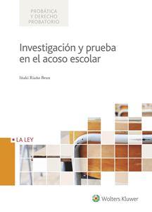 Imagen de Investigación y prueba en el acoso escolar -  versión papel