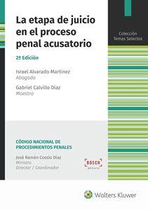 Imagen de La etapa de juicio en el proceso penal acusatorio. 2.ª Edición
