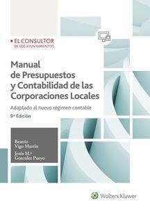 Imagen de Manual de Presupuestos y Contabilidad de las Corporaciones Locales. 9ª Edición