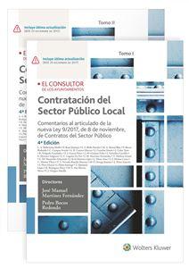 Imagen de Contratación del Sector Público Local. 4ª Edición (2 tomos)