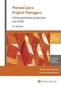 Imagen de Manual para Project Managers. Cómo gestionar proyectos con éxito 3ª edición