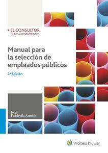 Imagen de Manual para la selección de empleados públicos. 2ª Edición - versión papel