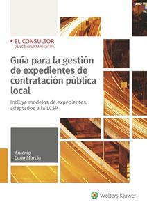 Imagen de Guía para la gestión de expedientes de contratación pública local