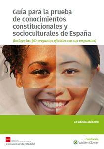 Imagen de Guía para la prueba de conocimientos constitucionales y socioculturales de España. 2ª Edición