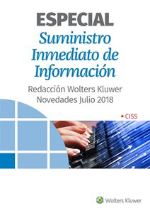 Imagen de ESPECIAL Suministro Inmediato de Información. Novedades Julio 2018