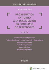 Imagen de Problemática en torno a la declaración en concurso de acreedores. 2ª Edición