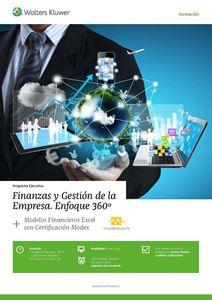 Imagen de Programa Ejecutivo Finanzas y Gestión de la Empresa. Enfoque 360° + Modelos Financieros Excel con Certificación Modex