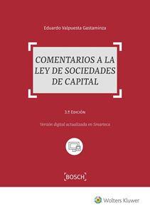 Imagen de Comentarios a la ley de sociedades de capital. 3ª Ed.