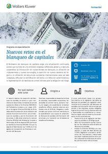 Imagen de Programa de especialización Nuevos retos en el blanqueo de capitales