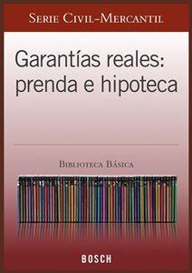 Imagen de BBB. Garantías reales: prenda e hipoteca (Suscripción)