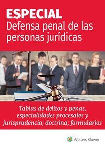 Imagen de ESPECIAL Defensa Penal de las Personas Jurídicas