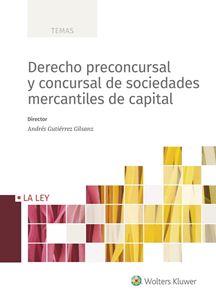 Imagen de Derecho preconcursal y concursal de sociedades mercantiles de capital