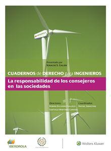Imagen de Cuaderno 44 - La responsabilidad de los consejeros en las sociedades