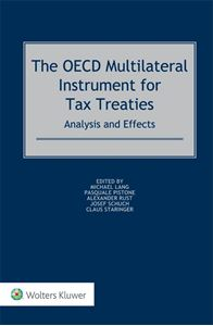 The OECD Multilateral Instrument for Tax Treaties