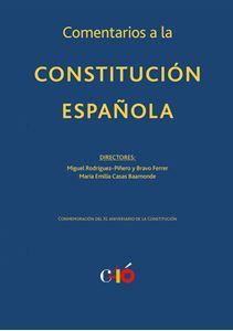 Imagen de Comentarios a la Constitución Española. XL Aniversario