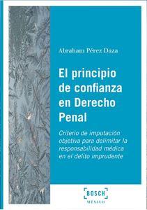 Imagen de El principio de confianza en Derecho Penal