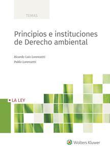 Imagen de Principios e instituciones de Derecho ambiental