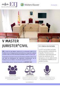 Imagen de V Máster Jurister® Civil