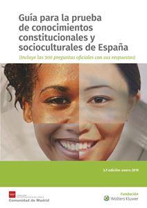 Imagen de Guía para la prueba de conocimientos constitucionales y socioculturales de España. 3ª Edición