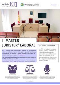 Imagen de II Máster Jurister® Laboral