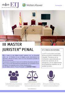 Imagen de III Máster Jurister® Penal