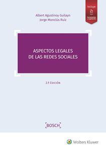 Imagen de Aspectos legales de las redes sociales 2.ª edición