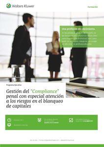 """Imagen de Programa Ejecutivo Gestión del """"Compliance"""" penal con especial atención a los riesgos en el blanqueo de capitales"""