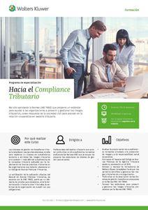 Imagen de Programa de Especialización Hacia el Compliance Tributario