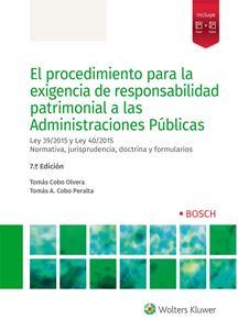 Imagen de El procedimiento para la exigencia de responsabilidad patrimonial a las Administraciones Públicas. 7ª ed.