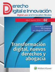 N.º 2 revista Derecho Digital e Innovación. Edición Especial XII Congreso de la Abogacía Española