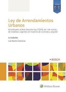 Imagen de Ley de Arrendamientos Urbanos - 3ª ed