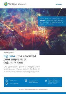 Imagen de Programa ejecutivo Big Data. Una necesidad para empresas y organizaciones