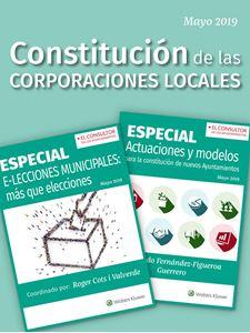 Imagen de PacK Constitución de las Corporaciones Locales