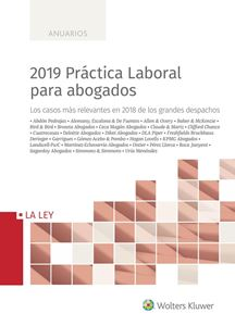 Imagen de 2019 Práctica Laboral para abogados