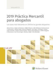 Imagen de 2019 Práctica Mercantil para abogados